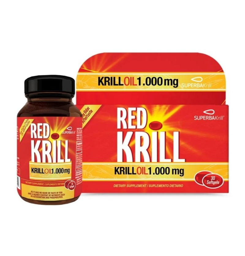 Red Krill Oil 1.000 Mg 30...