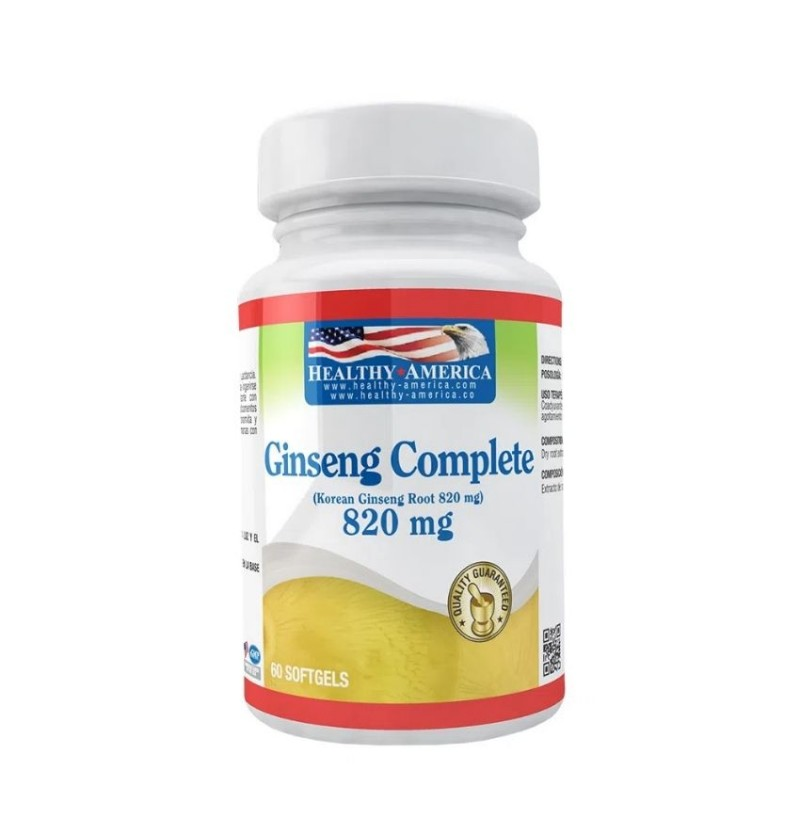 Ginseng Complete 820mg 60...