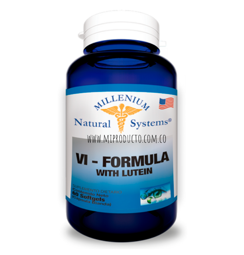 VI FORMULA WITH LUTEIN X 60...